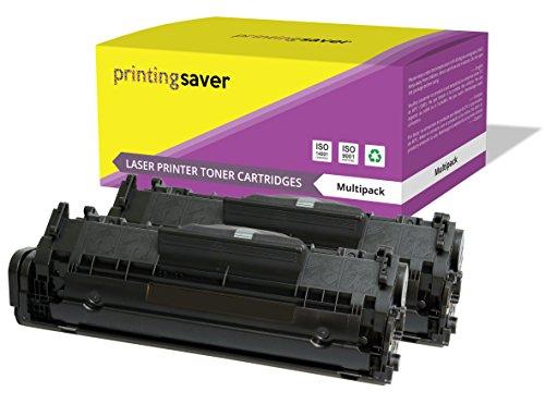 FX10 Printing Saver pack de 2 tóners compatibles para CANON I-Sensys MF-4010, MF-4012, MF-4014, MF-4050, MF-4100, MF-4120, MF-4140, MF-4150, MF-4210, MF-4270, MF-4320D, MF-4330D, MF-4340D, MF-4350D, MF-4370DN, MF-4380DN, MF-4660PL, MF-4669PL, MF-4690PL, Fax L95, L100, L120, L140, L160, Laserbase PC-D440, PC-D450 impresoras