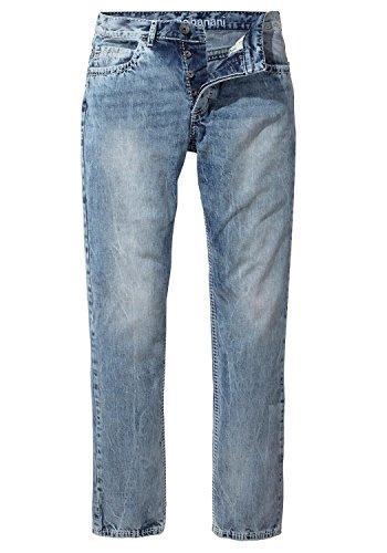 Bruno Banani Herren Jeans Jeanshose Carlos Bootcut (L34) Light Blue