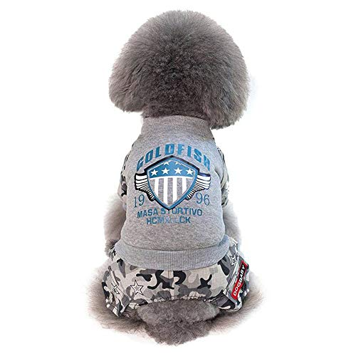 YHONG-DogClothes Kleidung für Hunde Katze Pet Puppy Dog Cat Pet Clothes, Kleidung Haustier Kleid Dress Up Superhund - Superman Dog Kostüm Medium