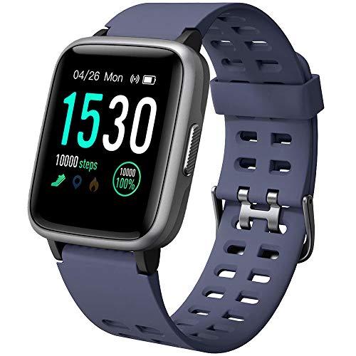 YAMAY Montre Connectée Femmes Homme Smartwatch Etanche IP68 Bracelet Connecté Cardio Podometre Enfant Smart Watch Sport Fitness Tracker d'Activité Chronometre pour Android iPhone Samsung Huawei Xiaomi