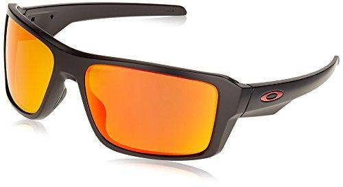 Ray-Ban Herren Double Edge Sonnenbrille, Schwarz (Negro), 66