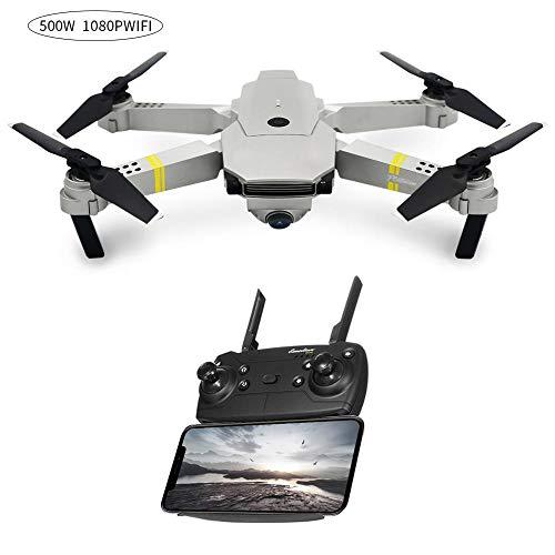 WiFi 1080P HD Kamera Drohne Spielzeug mit 120 ° Weitwinkeleinstellung, RC Quadcopter mit 8 Minuten Flugzeit,Ferngesteuertes Flugzeug mit Headless Modus,für Anfänger,Drohne für Erwachsener Kinder