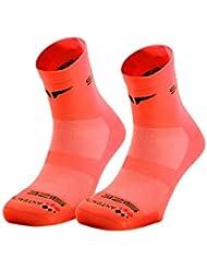sunkaa Hombre Calcetines emana Calcetines Running, todo el año, hombre, color Naranja - naranja, tamaño M/L