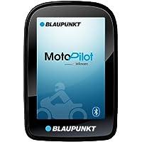 Blaupunkt MotoPilot - Motorrad Navigation 3,5 Zoll (8,9 cm) Touch-Display, Kartenmaterial Gesamteuropa, TMC, Bluetooth…