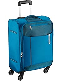 American Tourister Portugal Polyester 57 cms Teal Soft Sided Carry-On (AMT Portugal SP 57CM Teal)