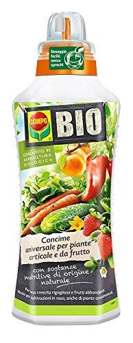 compo concime universale biologico per piante orticole e da frutto conf. da 1 lt