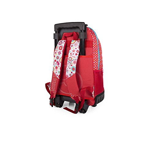 Imagen de skpa t   con ruedas red flowers, color rojo alternativa