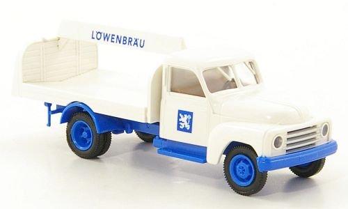 hanomag-l-28-lowenbrau-transpotador-de-bebidas-modelo-de-auto-modello-completo-brekina-187