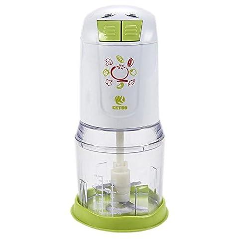 HJXJXJX Baby - Fütterungsmaschine home Multifunktions - Elektrischer Mischer Doppel - Klingen - Kochmaschine
