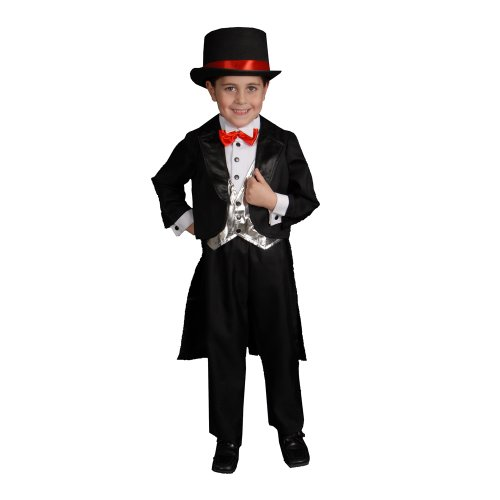 Dress up America Disfraz de Tuxedo Negro para niños