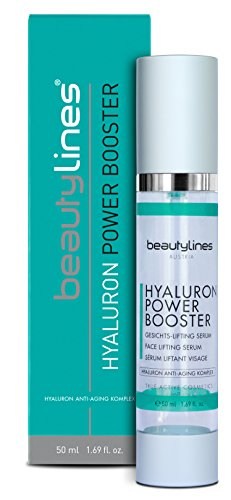 Beautylines Hyaluron Booster, 50ml hochdosiertes High Level Hyaluron mit Botoxeffect, Agiriline, Hyadisine