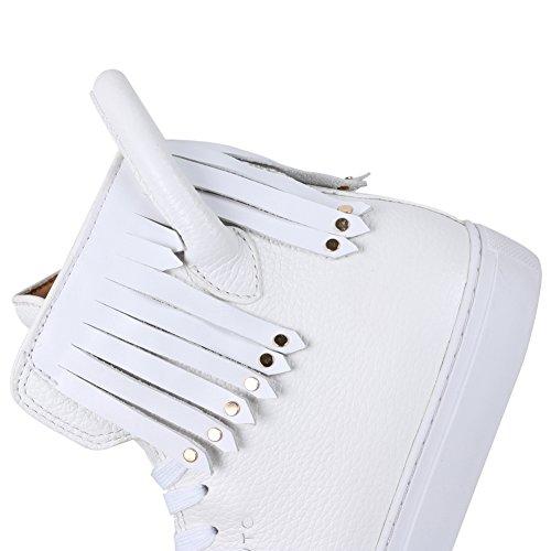 AIJIAER Dowto nuova modalità femminile sneaker scarpe White