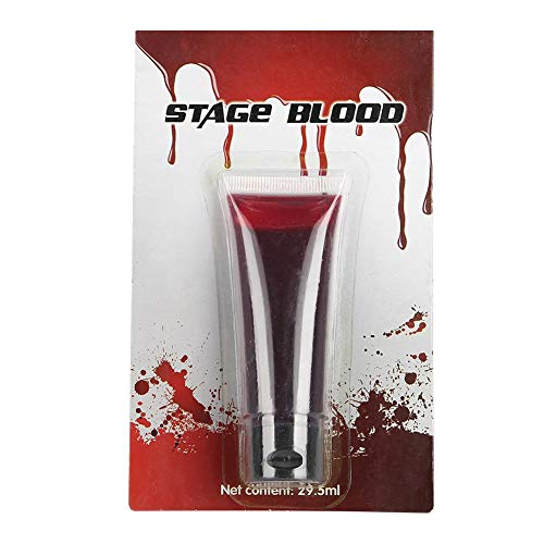 Sangue finto, ferita da ferita professionale di halloween ferite lime zombie vampire fancy face body paint oil costume makeup tool