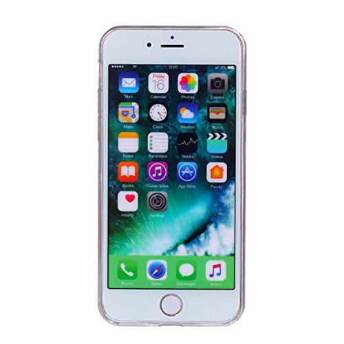 """MOONCASE iPhone 7/iPhone 8 Coque, Bling Glitter Doux TPU Étuis Case Ultra Slim Étanche aux Chocs Housse de Protection pour iPhone 7/iPhone 8 4.7"""" Rose Rose"""