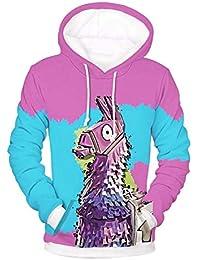 Domybest Damen Herren Kostüme 3D Blumendruck Hoodie Pullover Tops Paar  Kleidung 68dcfce9da