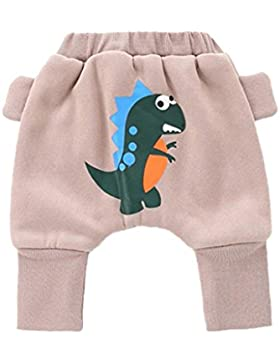 Lylita Bambino neonato ragazzi ragazze harem pantaloni più spessa Cartoon stampaggio Pantaloni Pantalone bambino