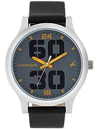 Fastrack Bold Analog Grey Dial Men's Watch-38051SL03