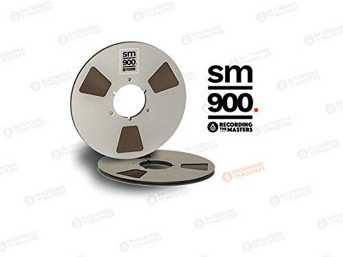 BASF SM900 1/4 Zoll 2500' 762 m 26,7 cm Metallrolle Nab Scharnierbox RMG/EMTEC Studio Mastering Tape ()