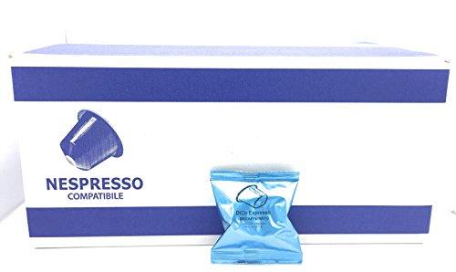 100 capsule nemos caffè decaffeinato compatibili nespresso