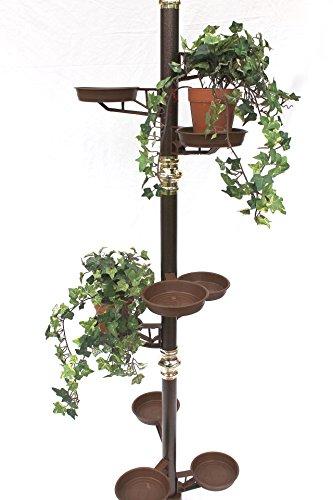 Blumensäule 260 cm Blumentreppe Art.7 Blumenständer Pflanzsäule Pflanzständer