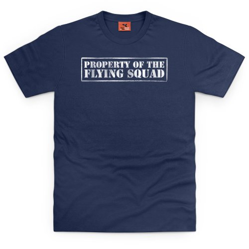 Property of The Flying Squad T-shirt, Uomo Blu navy