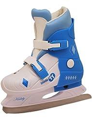TT Blade Girl 's Kiddy Iceskate, niña, Kiddy, blanc y azul