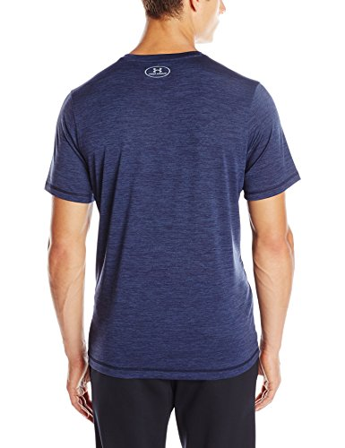Under Armour Herren Ua Tech Ss Tee Fitness-T-Shirts & Tanks, Grau Midnight Navy