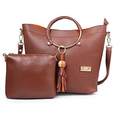 16bf4d4ee6c5 JFC BAG (BROWN): Amazon.in: Shoes & Handbags