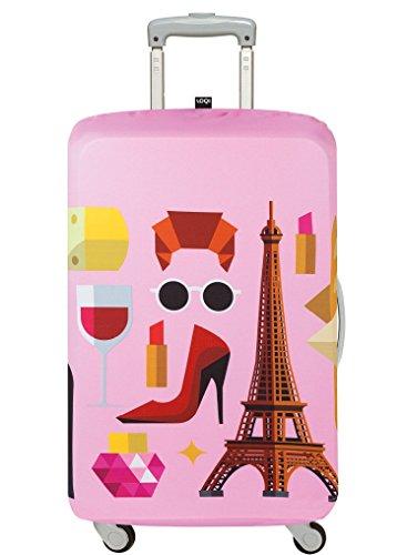 LOQI HEY STUDIO Paris Luggage Cover - Kofferhülle