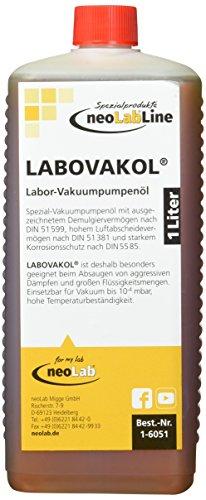 neoLab 1-6051 Labovakol Vakuumpumpenöl, Flasche, 1 L