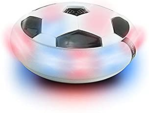 Sceva Indoor Football Sports Toy with Multi Lighting Feature for Kids (Multicolour)