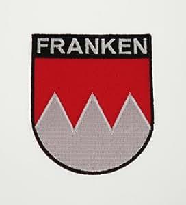 Yantec Wappen Patch Franken Aufnäher
