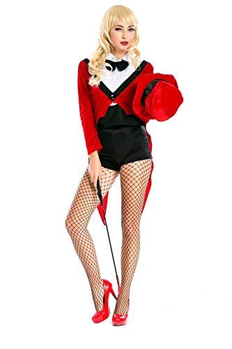 LLY Europa-Spieluniformen Rollenspiel Zirkus Zirkusdirektor Kostüm Halloween-Parteikleidung - Für Erwachsenen Zirkusdirektor Kostüm