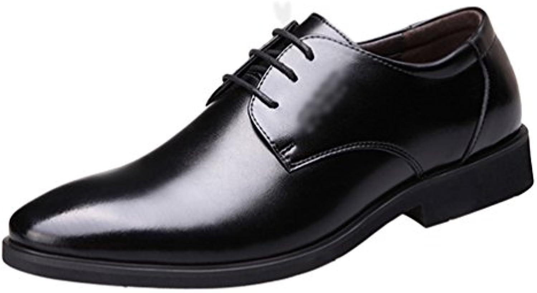 Yiiquan Hommes Pointu Loisir Affaires Low-Top... Chaussures Classique  Formel PU Cuir 499e5f85671