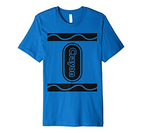 (Blue Crayon Box Gruppe Kostüm Halloween T-Shirt)