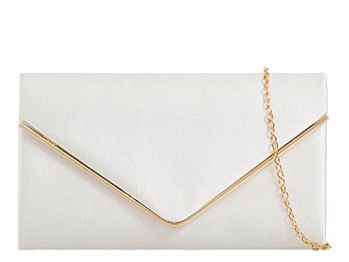 dellalta-per-divas-da-donna-nuove-lucido-satin-metallo-bordo-catena-spalline-ballo-matrimonio-pochet