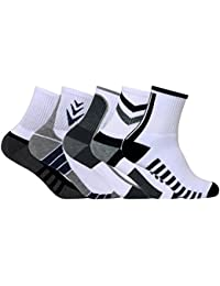 Men's PO5 Ankle Combed Cotton Terry Sports Socks