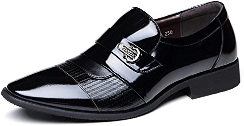 CYGG Herren Business Casual Schuhe Spitz Leder Herren Lederschuhe ...