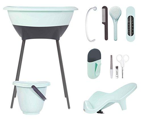 luma-babycare-l10310-bade-und-pflegeset-badewanne-wannenstnder-badewannensitz-windeleimer-badethermo