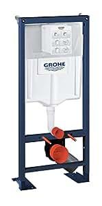 GROHE - 38340001 - Bâti-Support pour WC Suspendu - Mur Porteur ou Non-Porteur - Rapid SL (Import Allemagne)