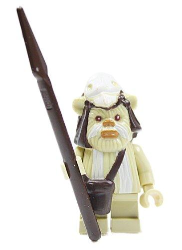 LEGO Star Wars - Minifigur Ewok Logray aus Set 7956 (Ewok Minifiguren Lego)