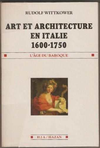 Art et architecture en Italie 1600-1750.