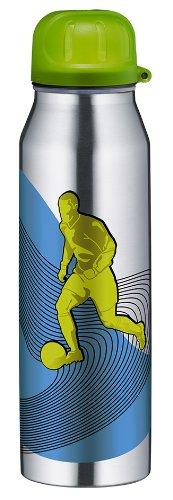Alfi 5337626050 Isolier-Trinkflasche edelstahl (0,5 Liter) active fußball
