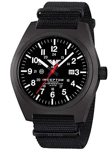 KHS Reloj de Caballero INCBSA.NB Automatik-Herrenuhr Inceptor B
