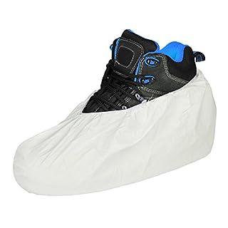 1 Paar Überschuhe Überziehschuh Schutzschuhe Schuhüberzüge Überzieher weiß