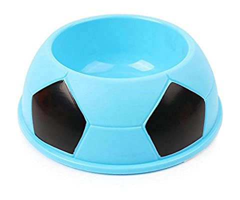 Westeng Gamelle Plastique De Foot-ball Style Écuelle Bol De Bonbon Couleur Pour Chiens Chats