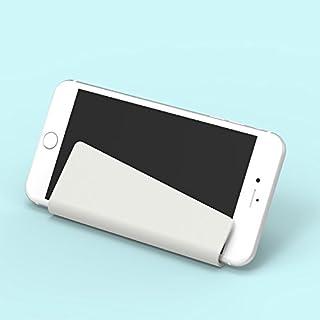 Niocase Handy Halter, Paste faltende Kreative Wand Ohne Spur Universal-Handyhalter Weiß