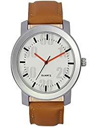 StyleKeepers Exclusive Volga White Casual/Sports Analog Dial Wrist Watch Strap Party Wedding | Casual Watch |...