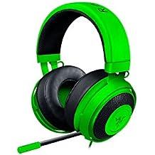 Razer Kraken Pro V2 - Auriculares para juegos y música para PC, MAC, XBOX y PS4 (diafragmas de audio de 50 mm, estructura de aluminio y comodidad sin fatiga), color verde