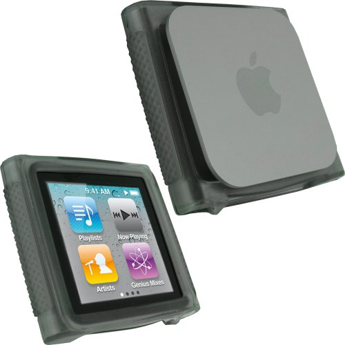 igadgitz-black-durable-crystal-gel-skin-case-cover-thermoplastic-polyurethane-tpu-for-apple-ipod-nan